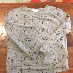 Vintage Havana star cutout sweatshirt small